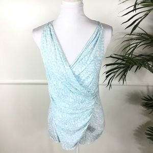 Elizabeth and James Blue Tank Top Womens Small